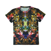 imaginative picture sublimation custom short sleeve unisex t shirt