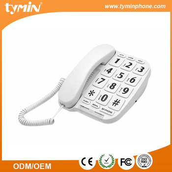 P/T switchable music on hole function big button speaker phone (TM-PA014)