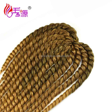 Alibaba <strong>express</strong> hot selling synthetic braids havana jumbo mambo twist hair for black women