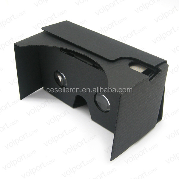 Popular Google Cardboard V2.0 VR 3D Virtual Reality Glasses for iphone 6/iphone 6 plus