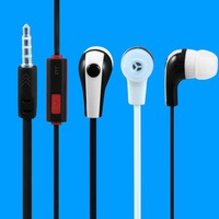 Good sound cheap OEM TPE Earbuds with microphone colorful earphones in hot-selling now !