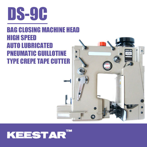 An ideal model DS-9 Series the highest speed bag closing machine