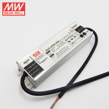 MEAN WELL 240W LED Driver 36V with 5 years warranty HLG-240H-36A