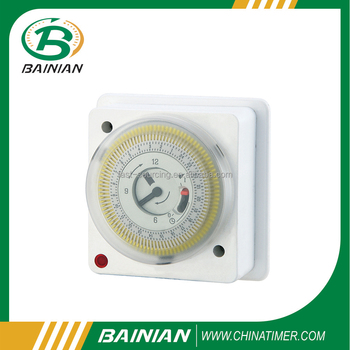 24 Hour Mechanical Wall-Mounted Timer, IP20