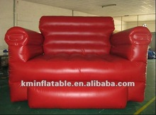 red giant inflatable sofa