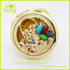 Newest Wholesale metal professional compact mirror favors