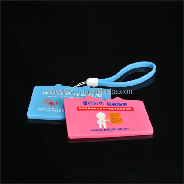 Cool indestructible standard size pvc luggage tag