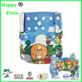 happyflute digital print cloth diaper bamboo diapers reusable washable nappies factory sale