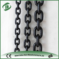 G80 Alloy Steel Black Oxidised Lifting Chain 8mm with test report