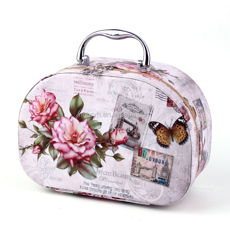 Portable portable professional makeup box cartoon makeup bag waterproof <strong>travel</strong> collection