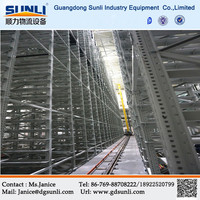 China Alibaba Professional Automated Warehouse A/S R/S Automatic Warehouse Racking System