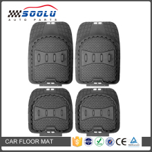 Heavy Duty 4pcs Front Rear Vinyl Car Floor Mats