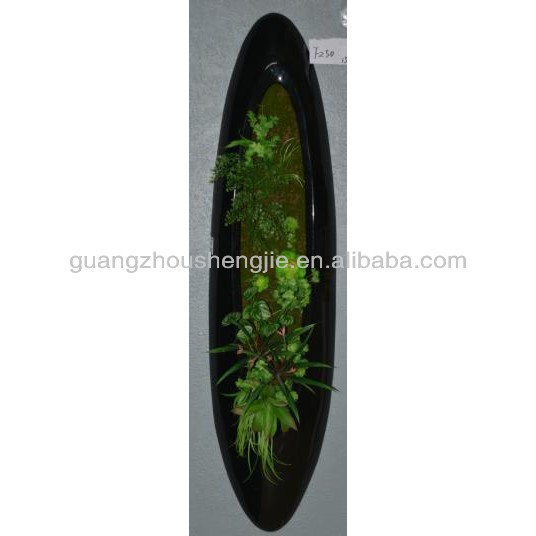 Hot sale artificial vertical green plants wall moss wall