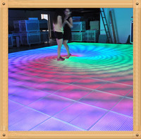 P15 Video Floor For Night Club/Disco Decor High Quality Wholesale Price Led Video Dance Floor