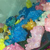 Hot Selling Natural Electroplating Colorful Quartz Raw Crystal Cluster For Home Decoration