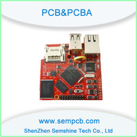 Electronic Products PCB assembly Power Gold Plating Blue PCBA