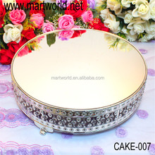 Wholesale high quality crystal wedding cake stand for wedding & party decoration(CAKE-007)