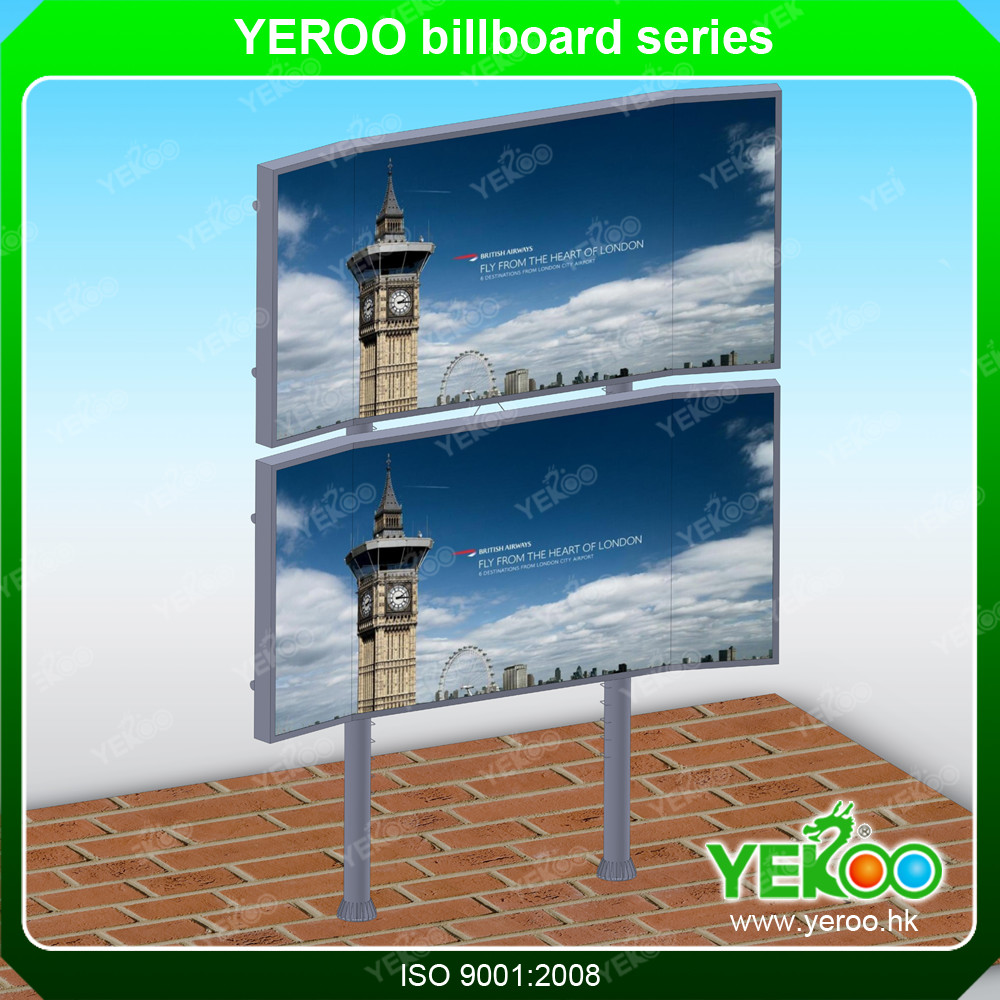 billboard advertising equipment, big outdoor advertising board