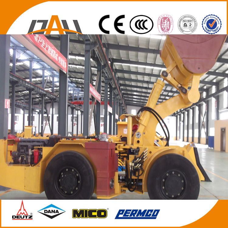 Gold and <strong>coal</strong> mining machine articulated tunnel rc wheel loader with CE for sale