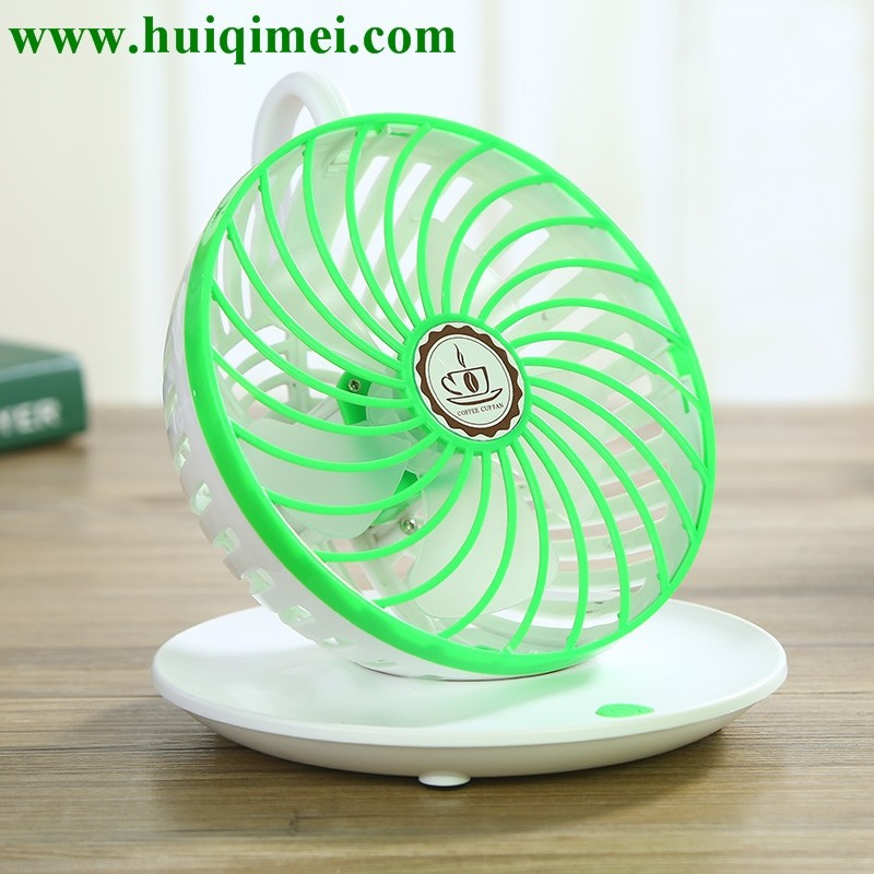 Coffee cup mini fan/colorful lovely indian gifts for foreigners
