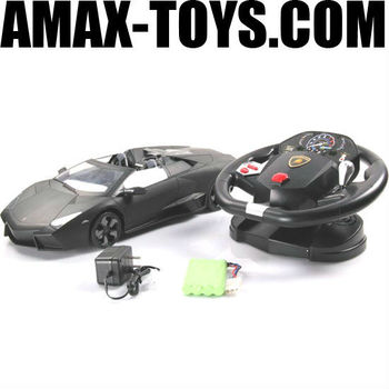 LC-2054F 1:10 rc car gravity sensing control emulational licensed remote control car (controlled by steering wheel)