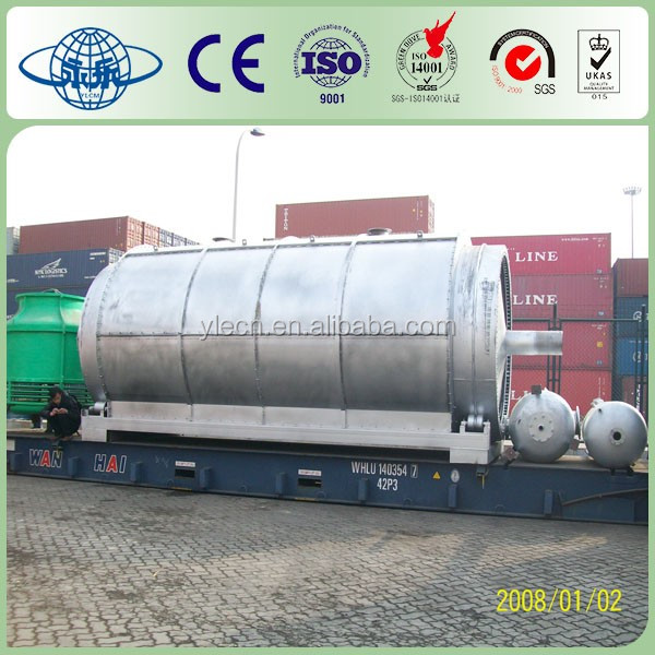 Used Tire To Fuel Oil Machine For Sale making first class oil