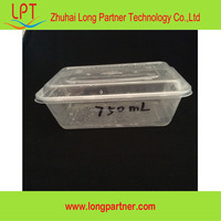 wholesale products disposable plastic meal prep containers / plastic lunch box