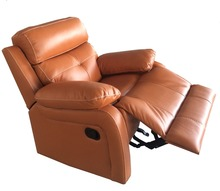 Hot sell classic sofa/contemporary furniture leather sectional adjustable headrest recliner sofa