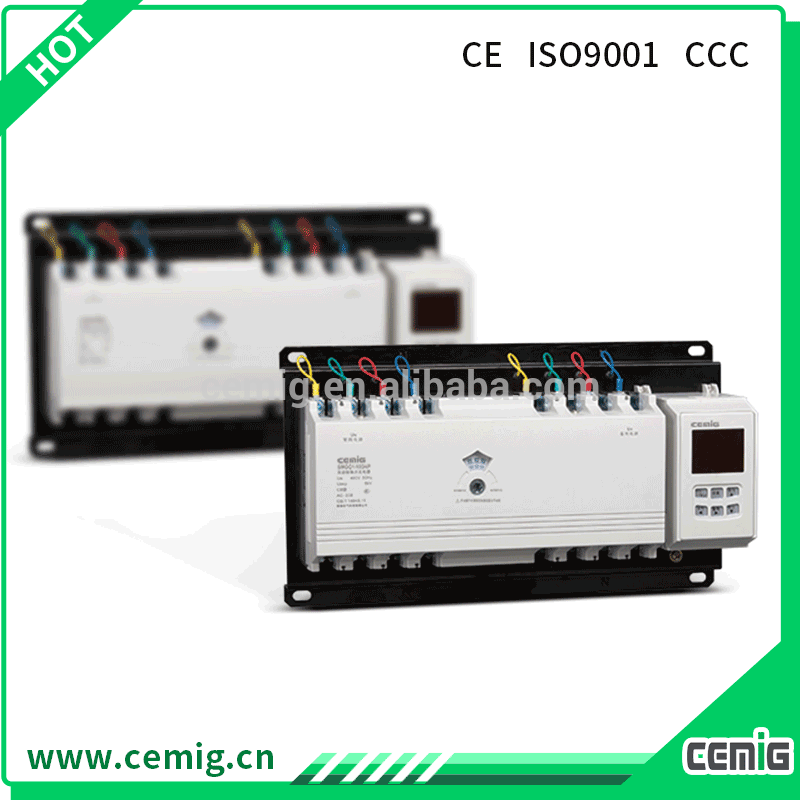 Factory OEM eco-friendly 100A automatic transfer switch