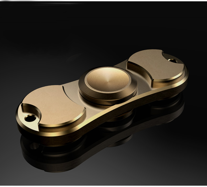 Metal/ Brass/ Titanium/ Aluminium Alloy EDC FingerSpinner with Hybrid Ceramic Bearing, Finger Spinner