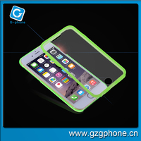 3 in 1 screen protector TPU cell phone case for iphone 6