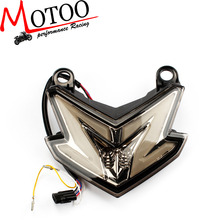 Soto racing - Smoke Integrated LED Tail Light Signal FOR Kawasaki Ninja ZX6R 636 Z800
