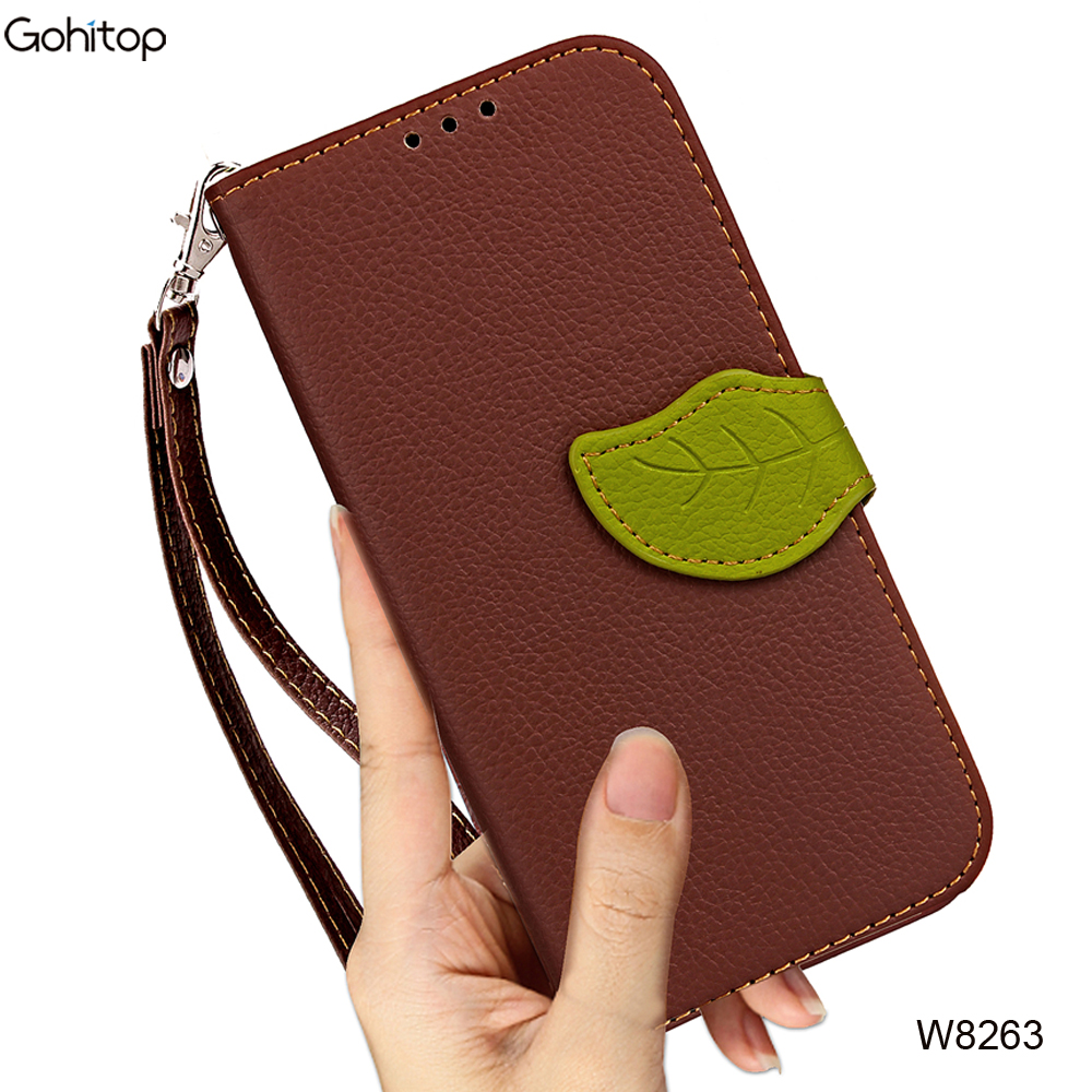 For iPhone 8 Leather Case, Luxury Mobile Phone Accessories Wallet Case for iPhone 8