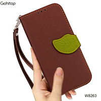 For IPhone X Leather Case Luxury