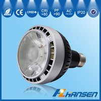 constant current led driver CE ROHS 35W Par30 4inch IP20 led spotlight,par30 cob spot light,35W spotlight