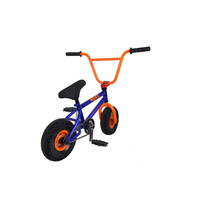 Mass supply 10 inch aluminum frame chromol fat boy bmx bike for racing