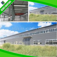 prefabricated labour camp insulated metal buildings / used industrial sheds for sale