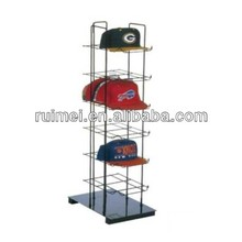 Multi-tier Folding Hat Rack