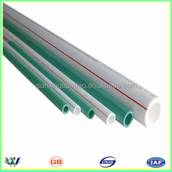 Small diameter plastic pipe for water supply ppr pipe