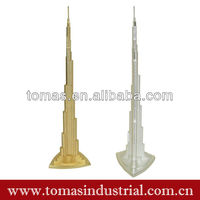 Hot Gifts 3D Metal Dubai Tower Souvenir