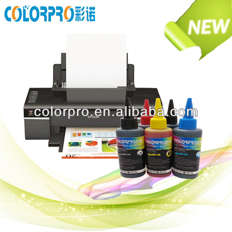 Professional screen printing ink for epson Textile ink with excellent printing effect