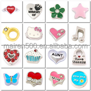 1000+ styles MOQ only 20pcs top selling floating glass locket charms wholesale