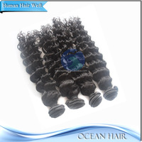 Factory Price Wholesale High Quality 100% Virgin Brazilian Hair Remy Loose Curl Weave