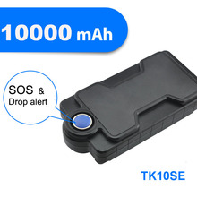long battery life gps gsm tracker with one year battery and free platform and 10000mAh battery kingneed TK10SE