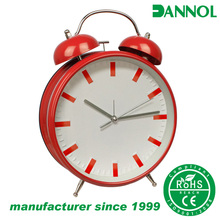 good quality clock movement bedroom decor two bell ring alarm clock