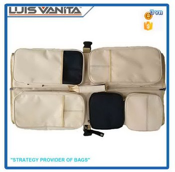 Fashional Beige 300D Baby Bed Bag