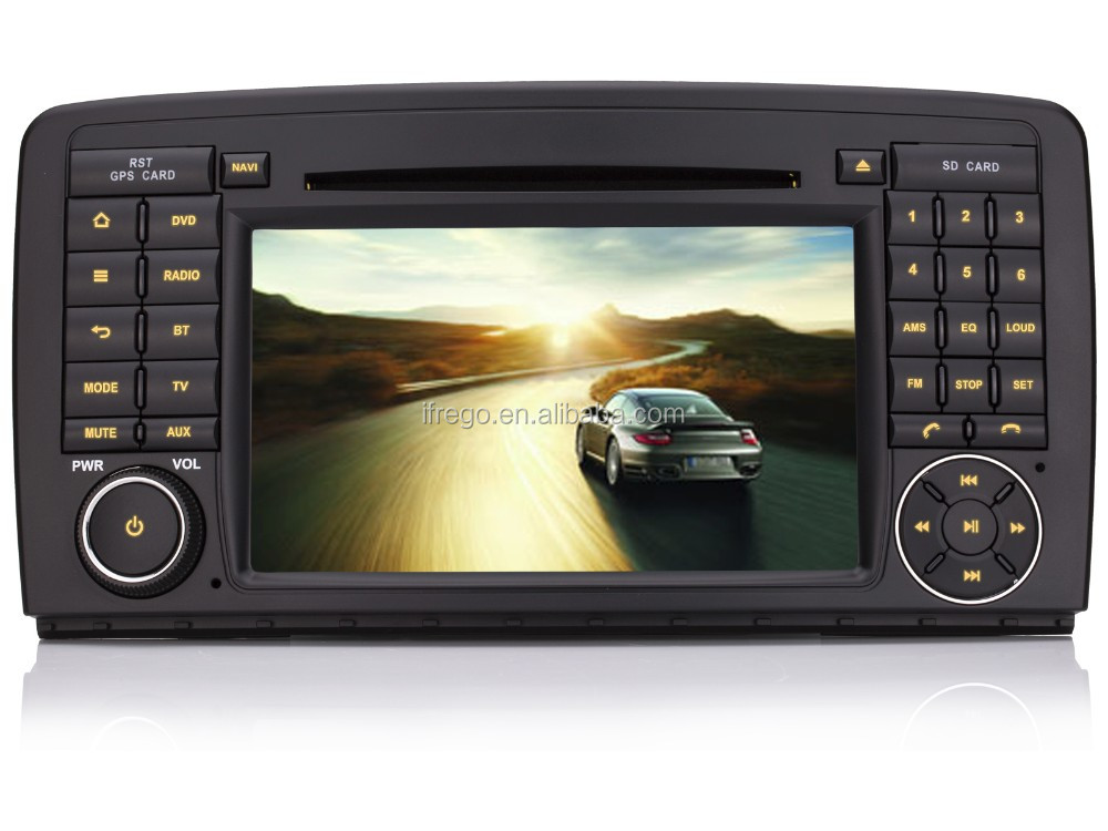 "7"" HD Bluetooth MAP USB GPS Navigation System Car 3G CD DVD for Mercedes W251 R350 R500(2006-2012)"