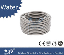 AISI304 316L DN20 DN25 stainless steel flexible metal coil hose for water in roll