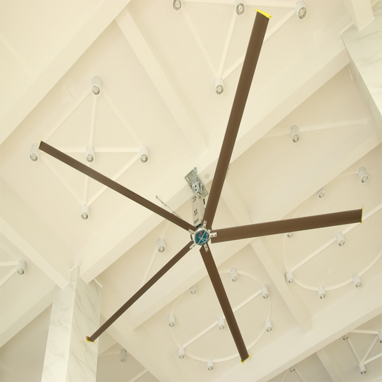 20foot Low Power With Large Air Volume HVLS Large Lrient Industry Ceiling Fan