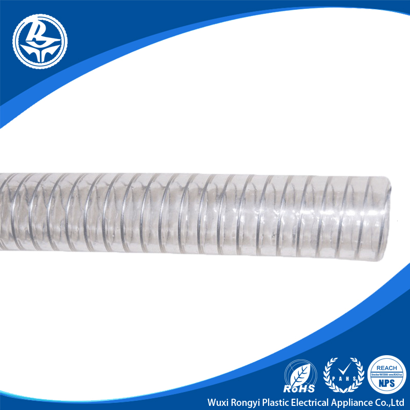 Clear Spiral Steel Wire Reinforced Pvc Air Hose - Buy Air Hose,Pvc ...